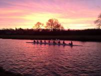 Beautiful day for rowing with W1