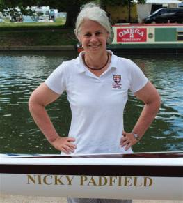 Naming of Nicky Padfield